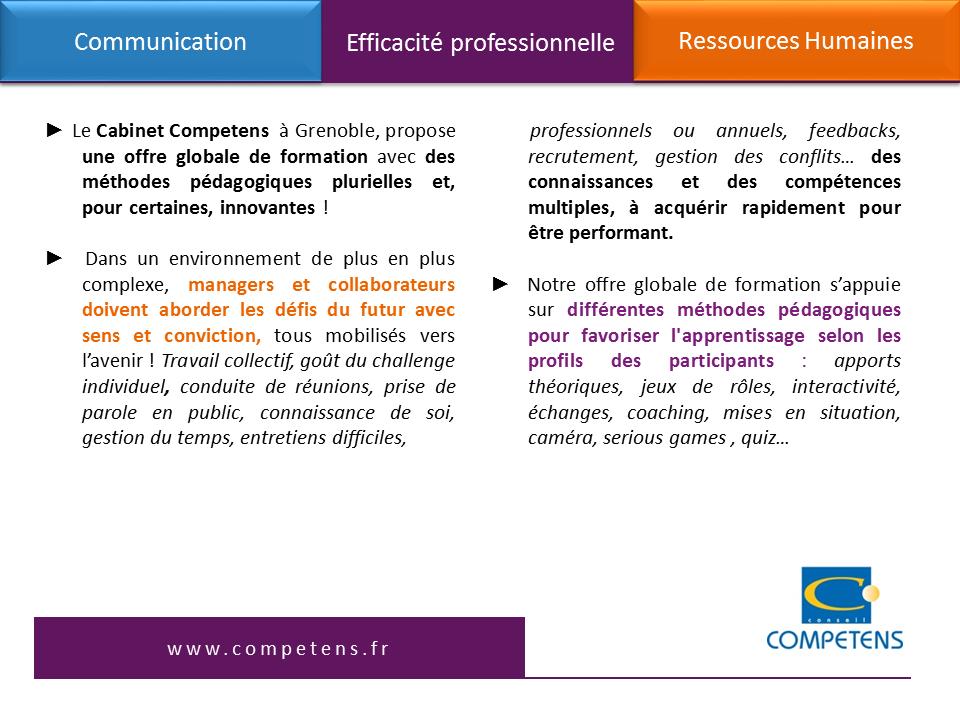 Offre globale RH2r siteCommunication_Efficacité professionnelle_Competens et Zambelli Communication_version 11012017